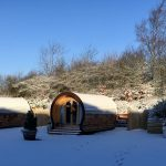 glamping in derbyshire at Knotlow Farm