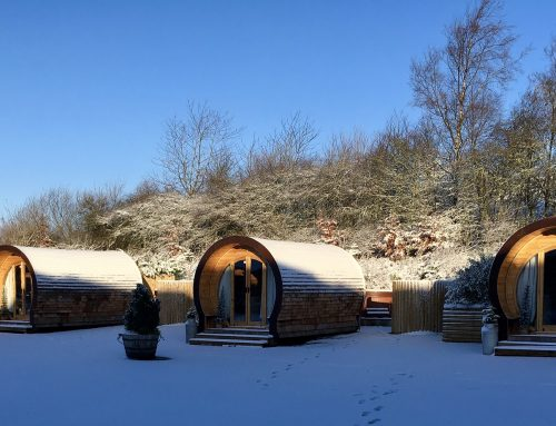 Glamping in Derbyshire at Christmas: what to do